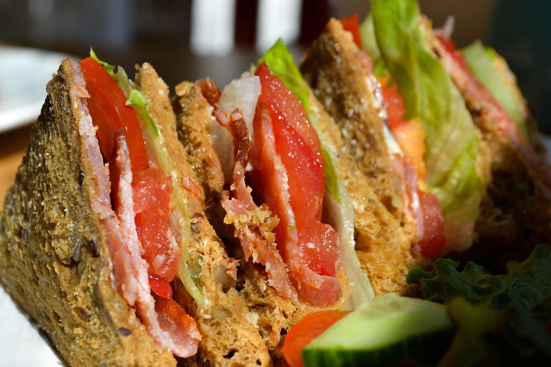 BLT sandwich.