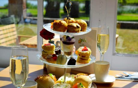 Afternoon Tea with fizz.