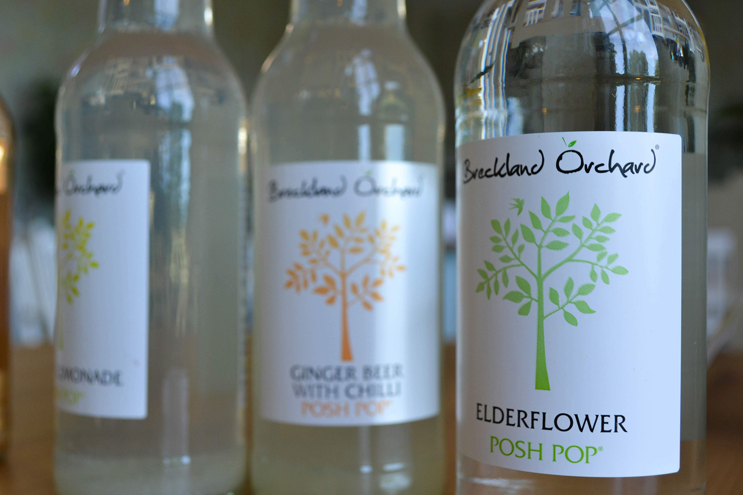 Soft drinks by Breckland Orchard.
