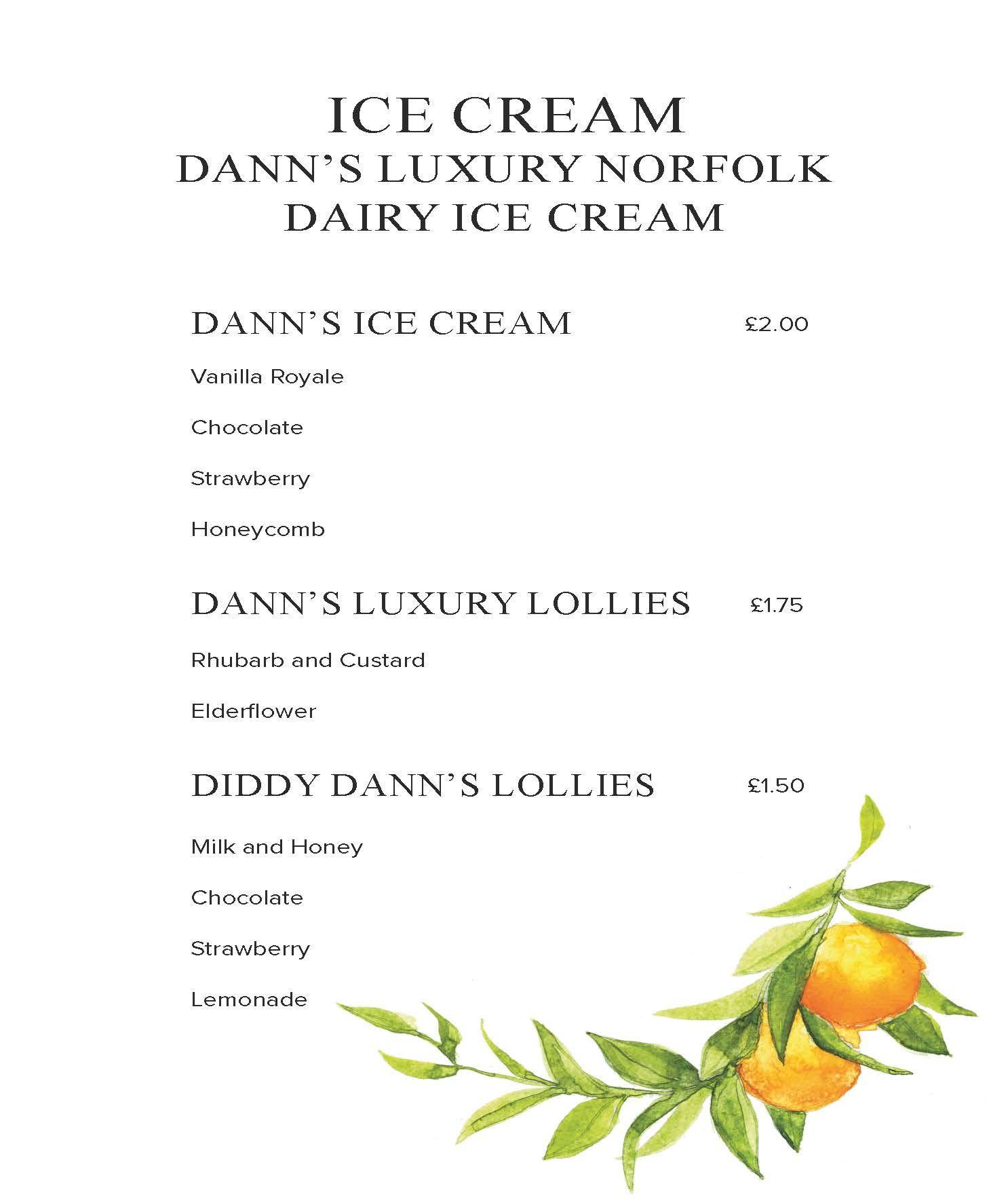 Luxury Ice Cream.