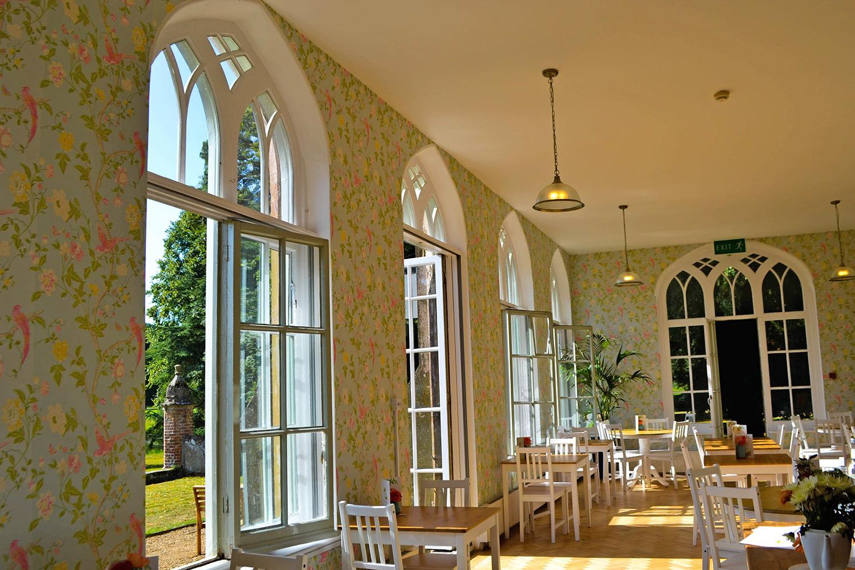Inside The Orangery.