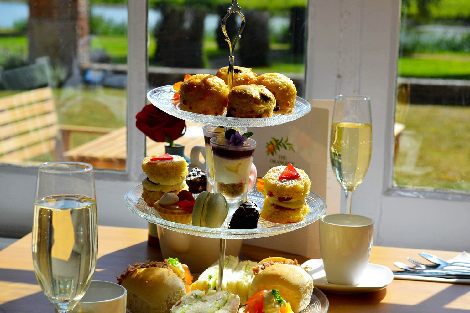 Afternoon Tea with Fizz at The Orangery.